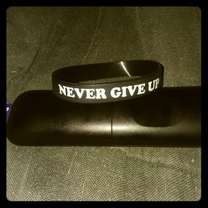New* Cancer support Rubber wrist band